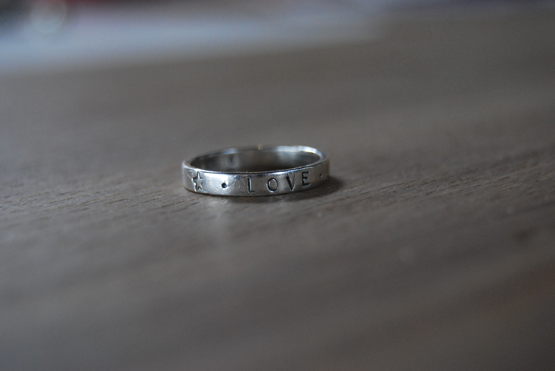 Personalized Skinny Ring