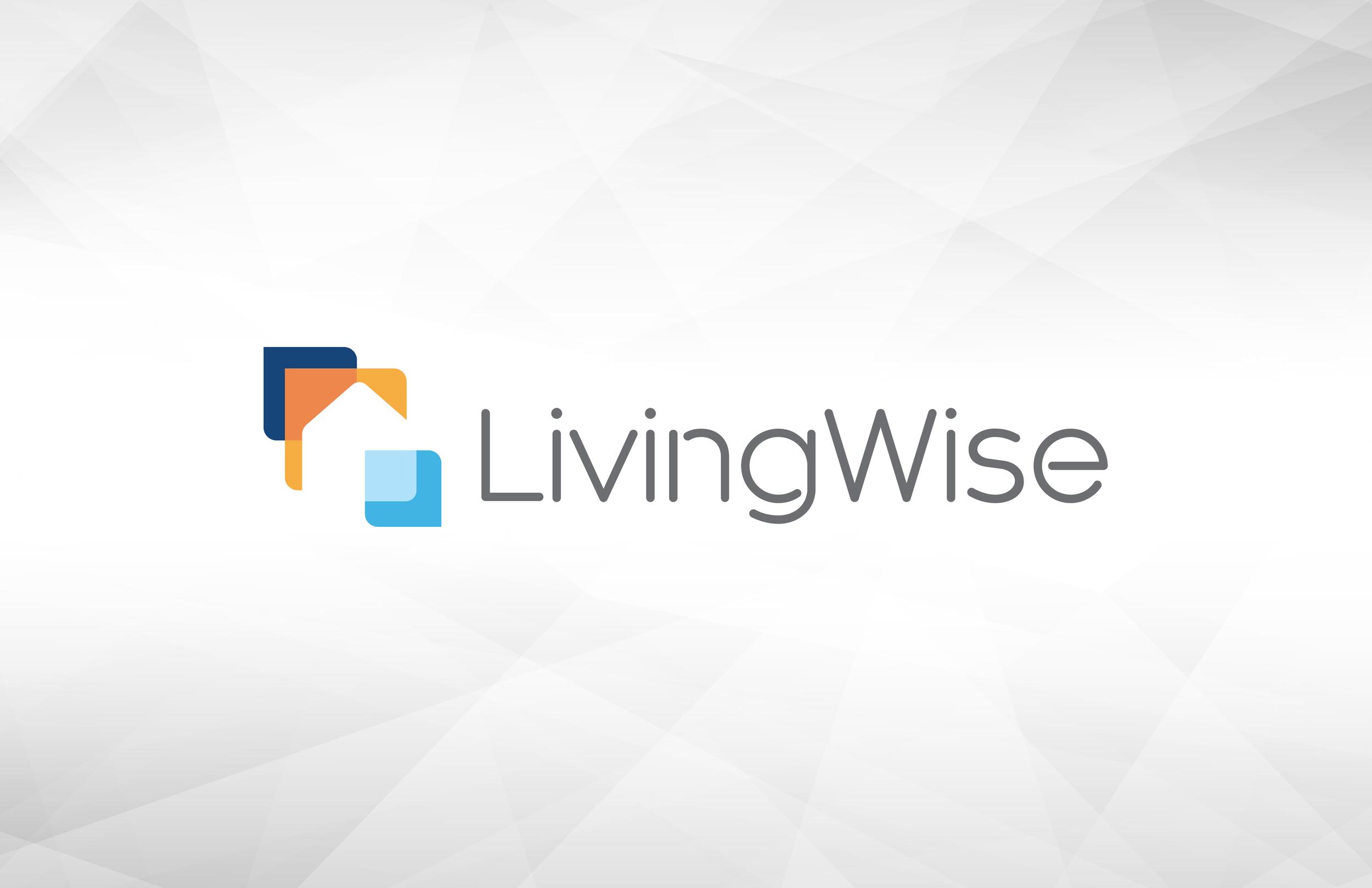 LivingWise logo design