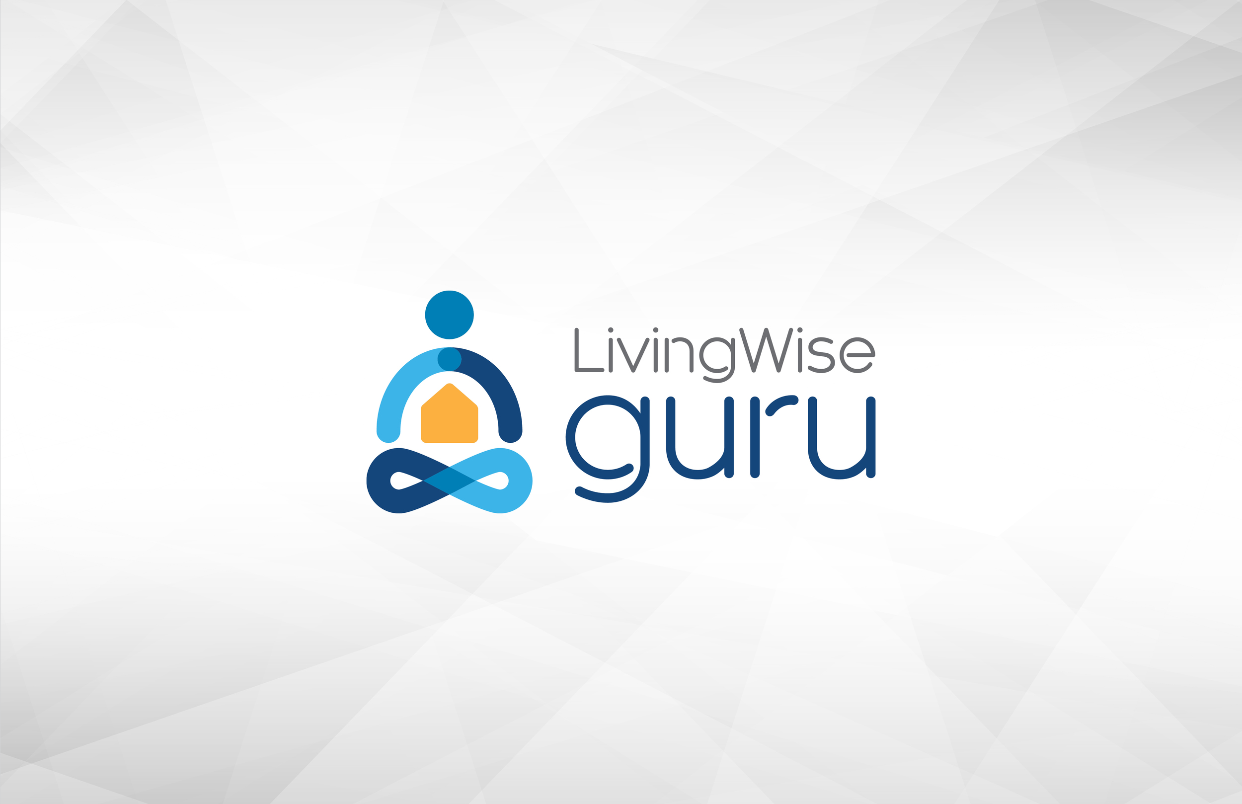 LivingWise Guru logo design