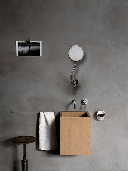 Cube washbasin by Benedini Associati