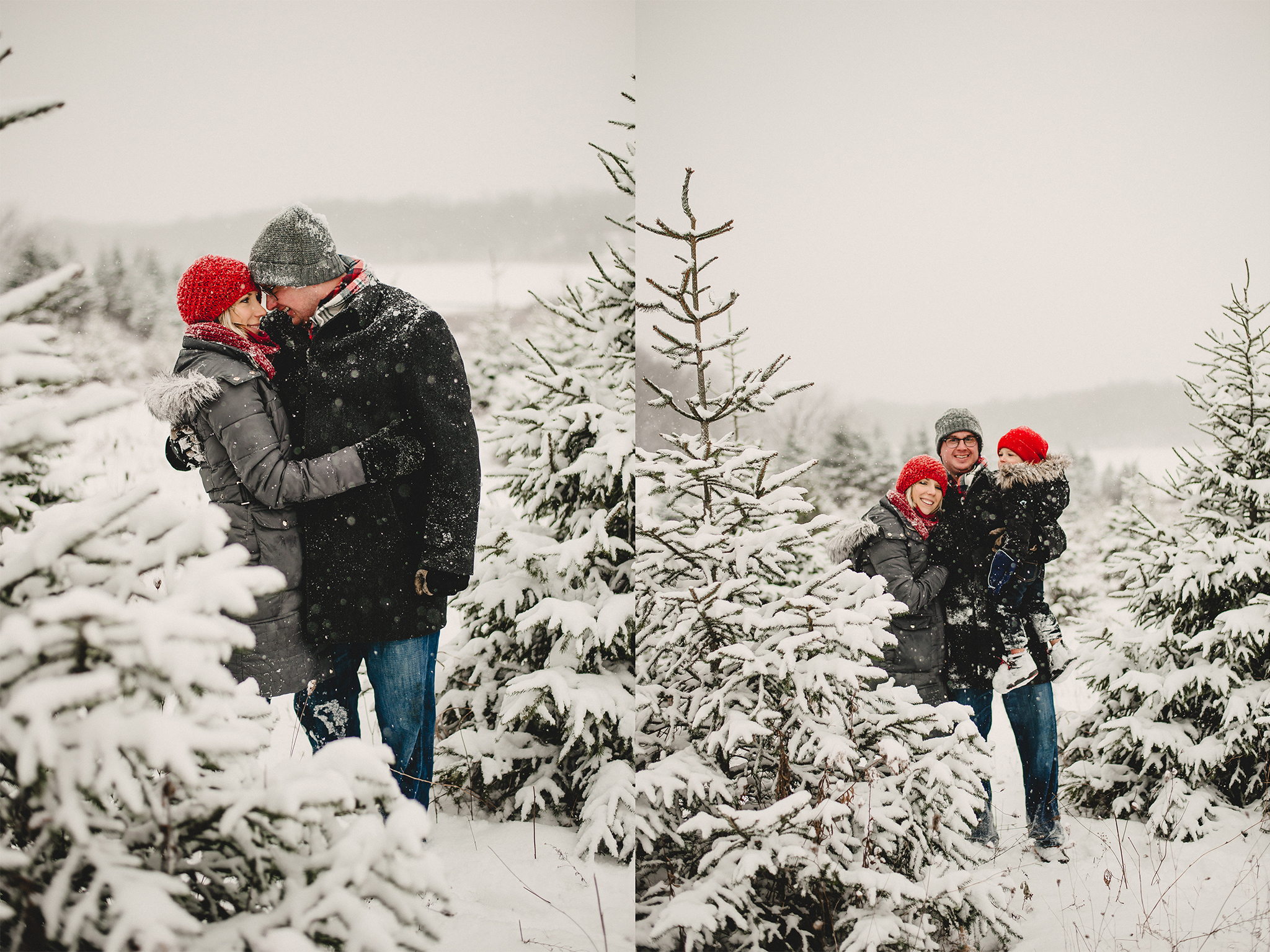 Christmas Tree Farm Family Photo Session Metamora Michigan Winter (30).jpg