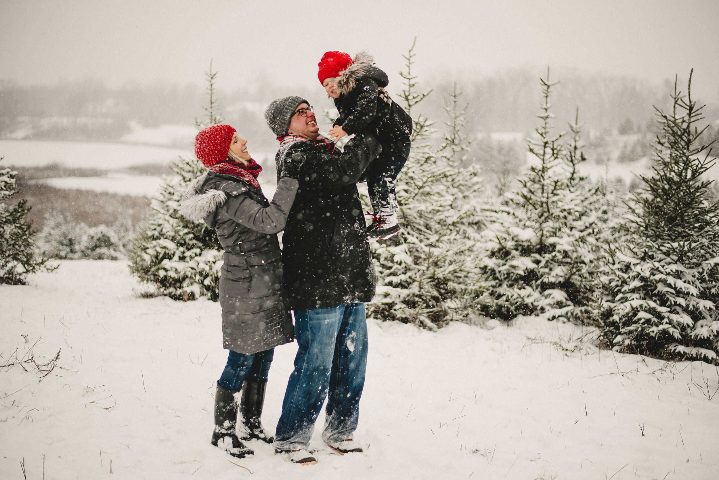 Christmas Tree Farm Family Photo Session Metamora Michigan Winter (36).JPG