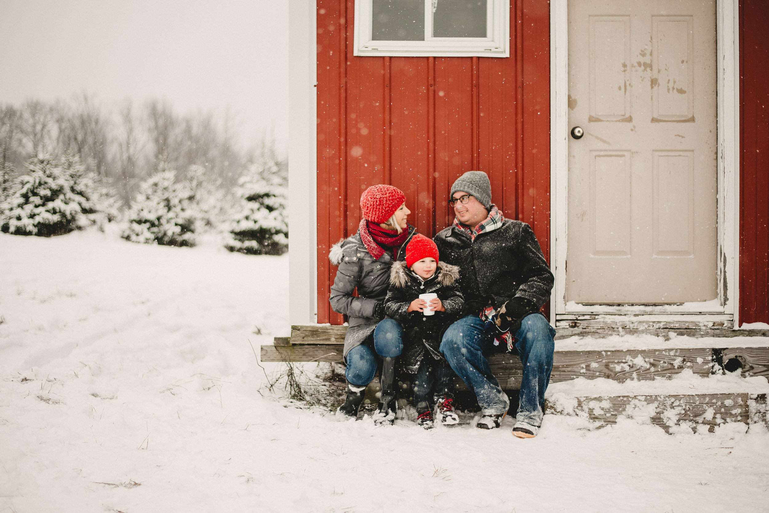 Christmas Tree Farm Family Photo Session Metamora Michigan Winter (42).JPG