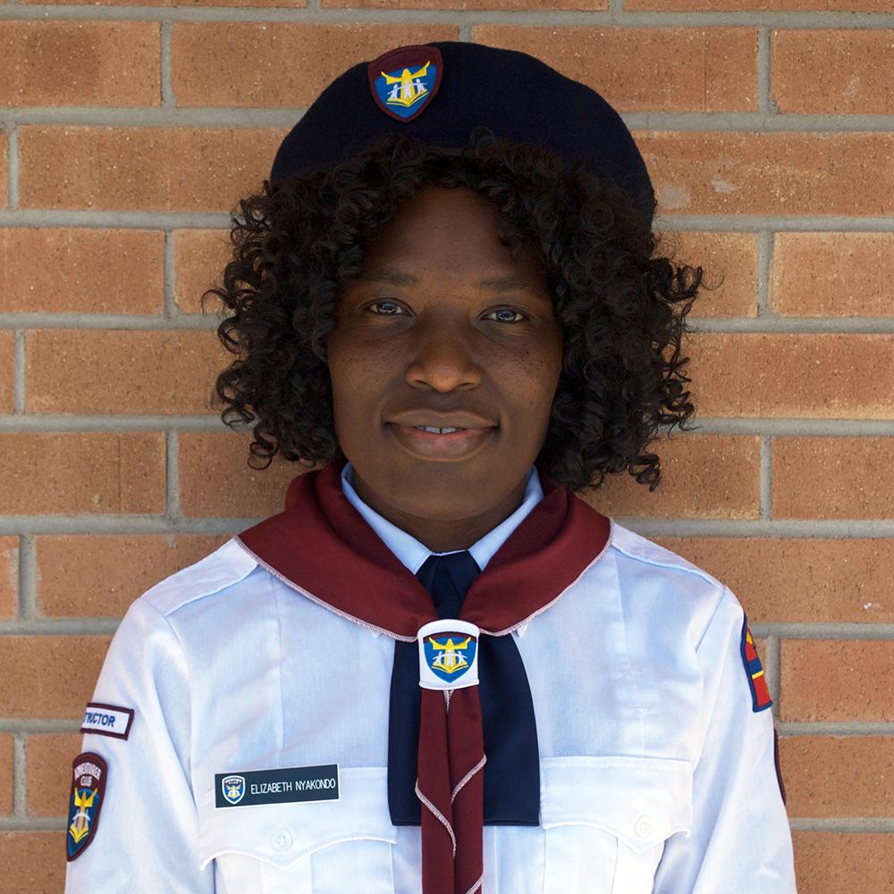 Elizabeth Nyakondo  Adventurers Instructor