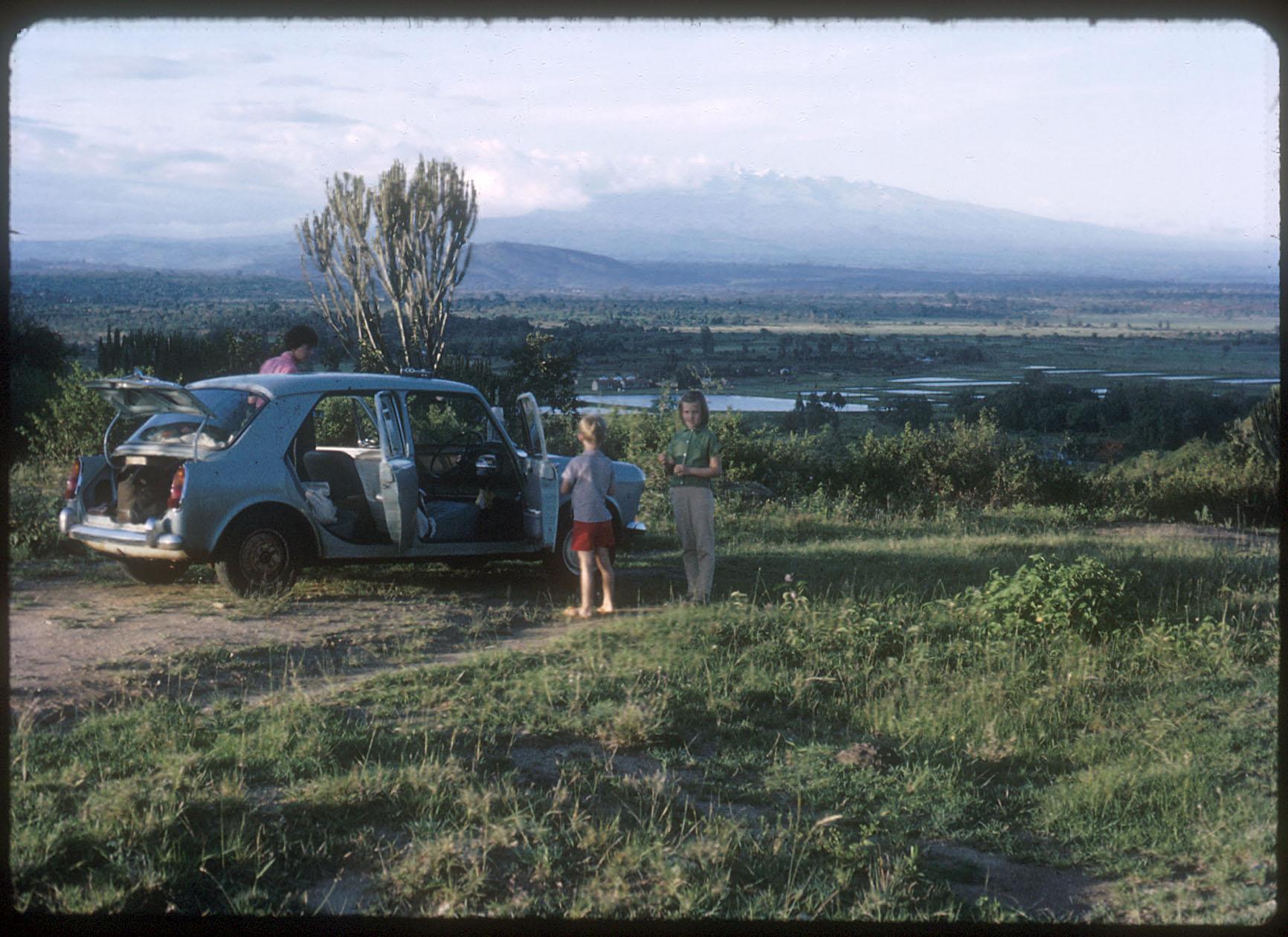 My sense of place, near Mt Kenya, 1967