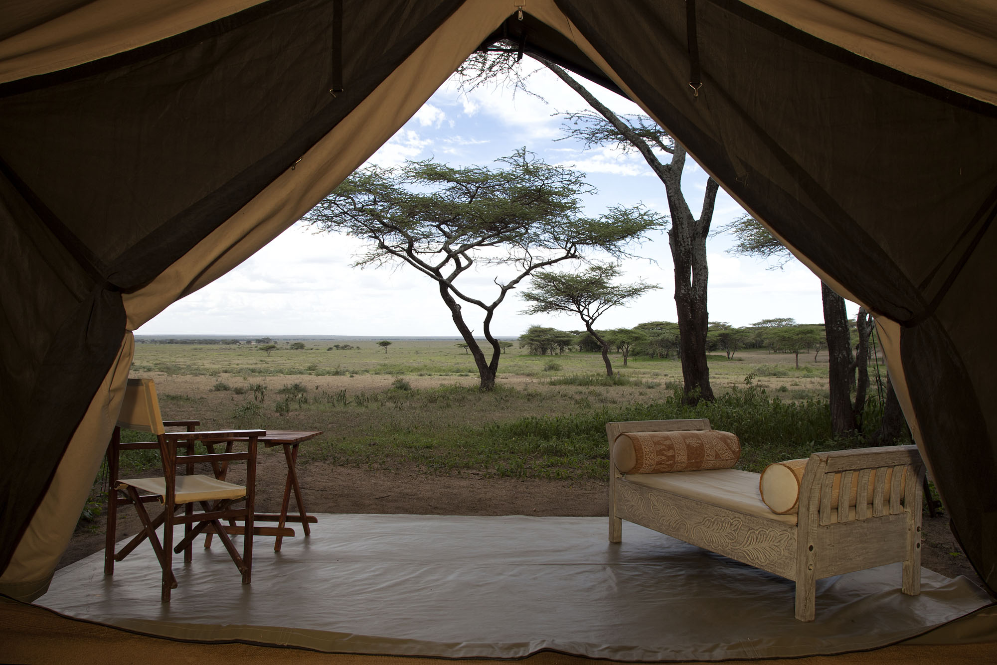 The view from our tent, Serian South Serengeti