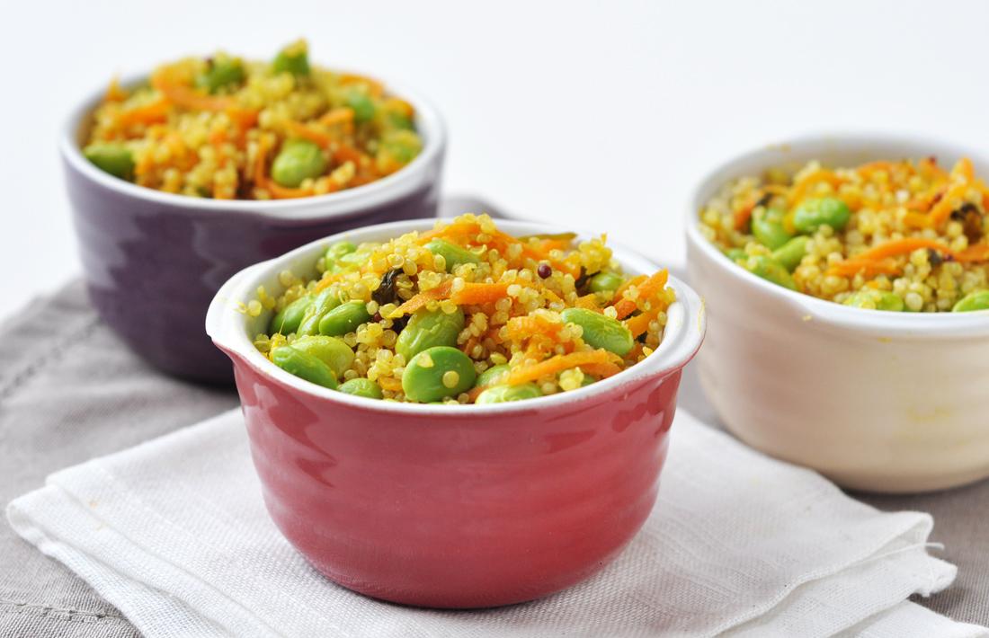 More quinoa.....