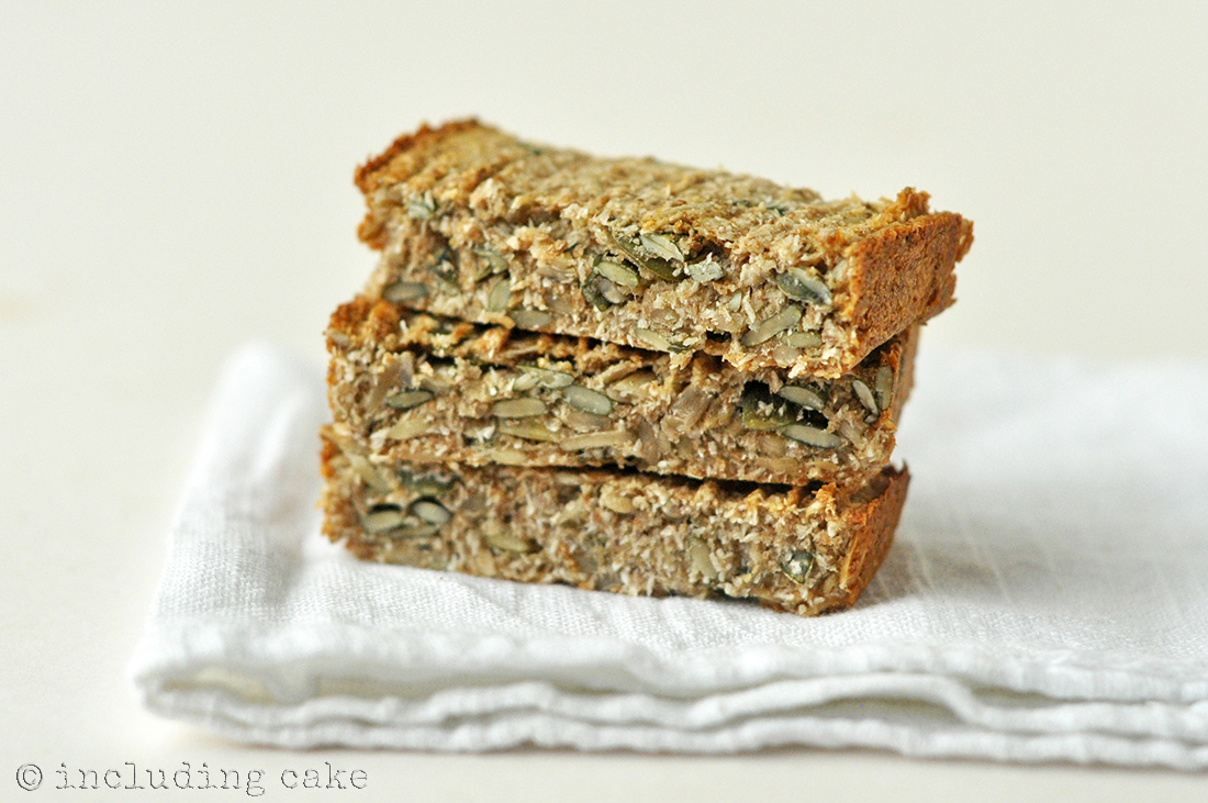 The cereal pressed into bars... one recipe two ways!