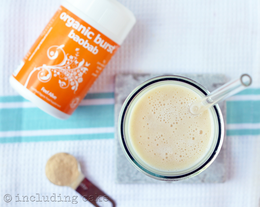 Quinoa milk shake