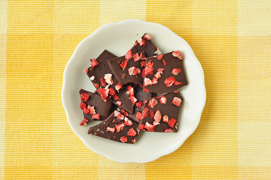 Recipe: Home Made strawberry Chocolate