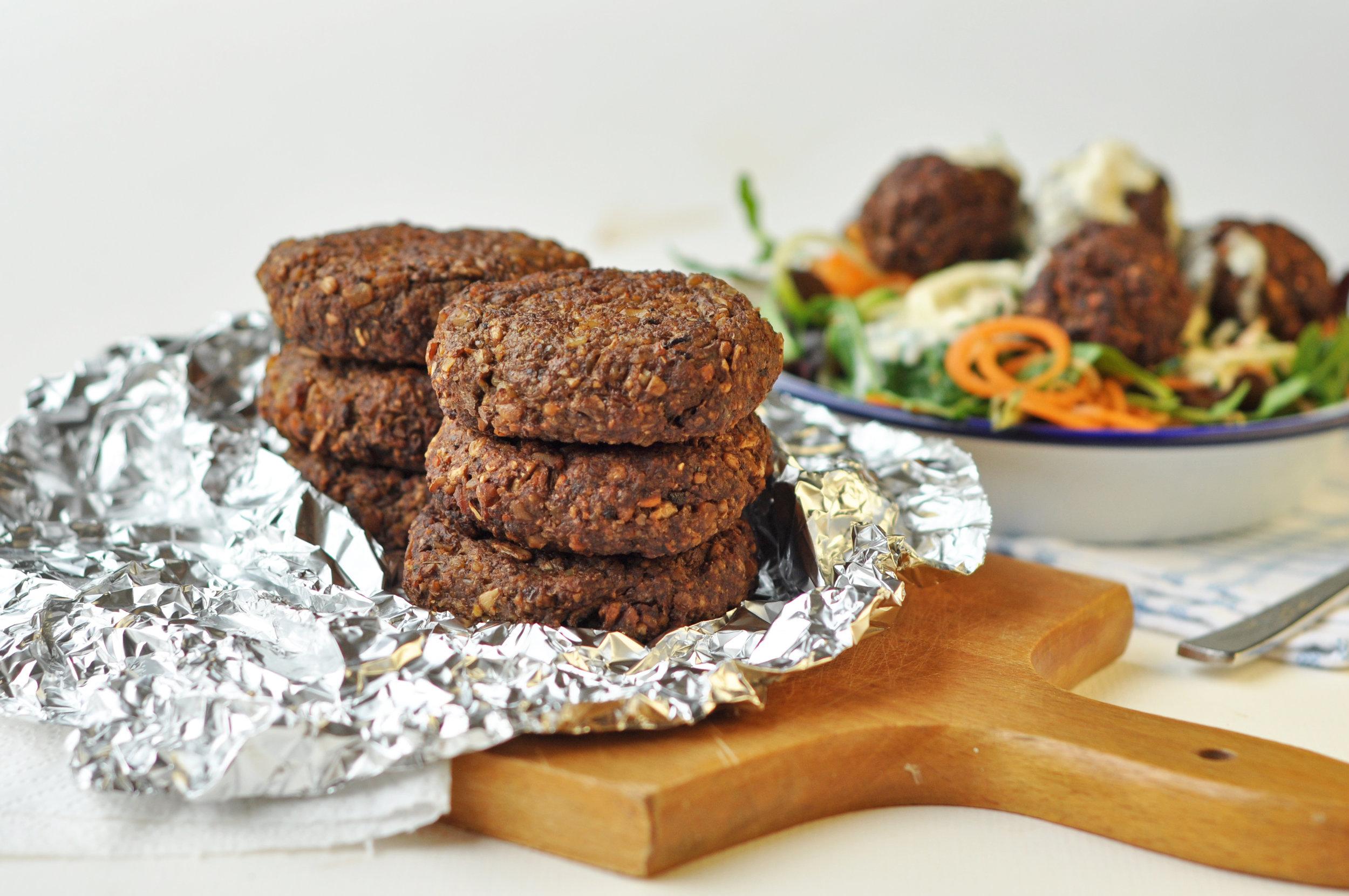 Recipe: vegan burgers