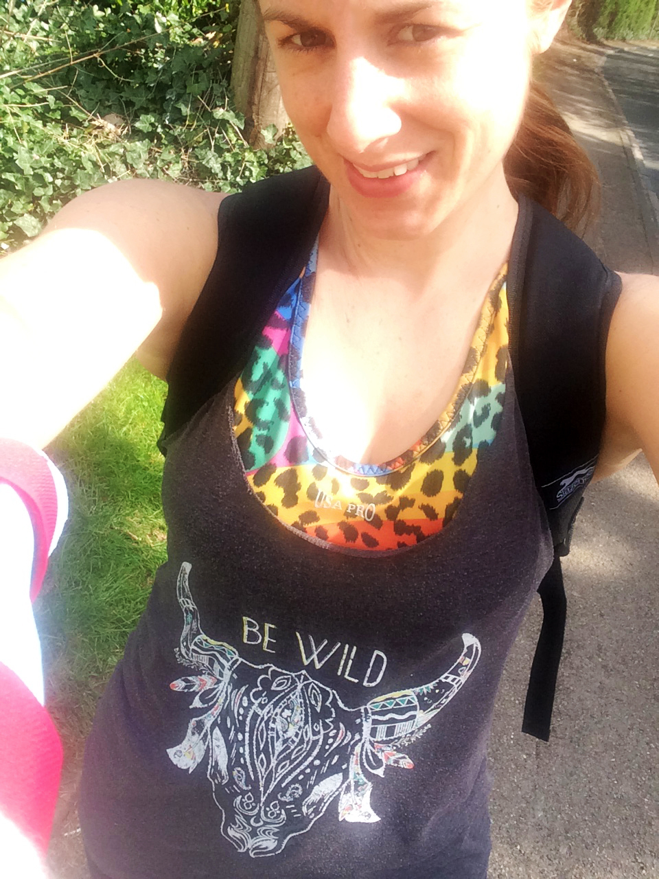 ...a quick t-shirt selfie as I was walking into town after my hospital appointment :-)