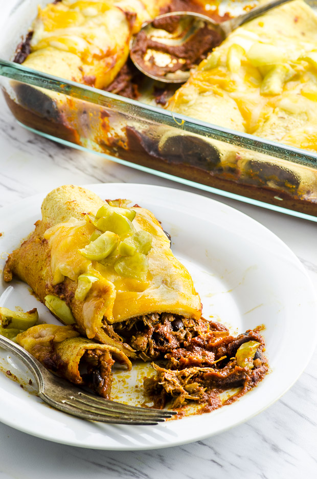 Pulled Jackfruit Enchiladas - May I have that Recipe?