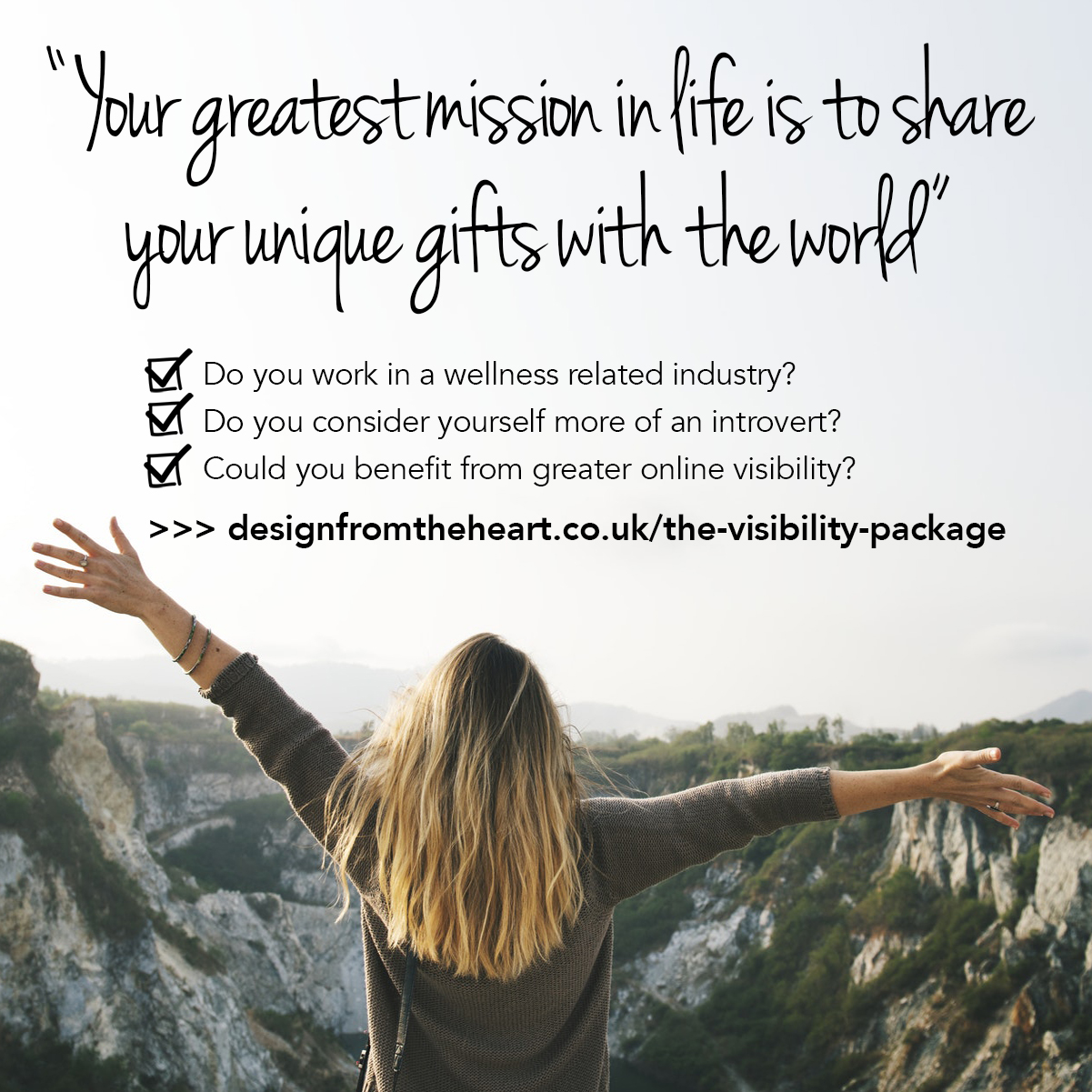 the visibility package coaching design blogging