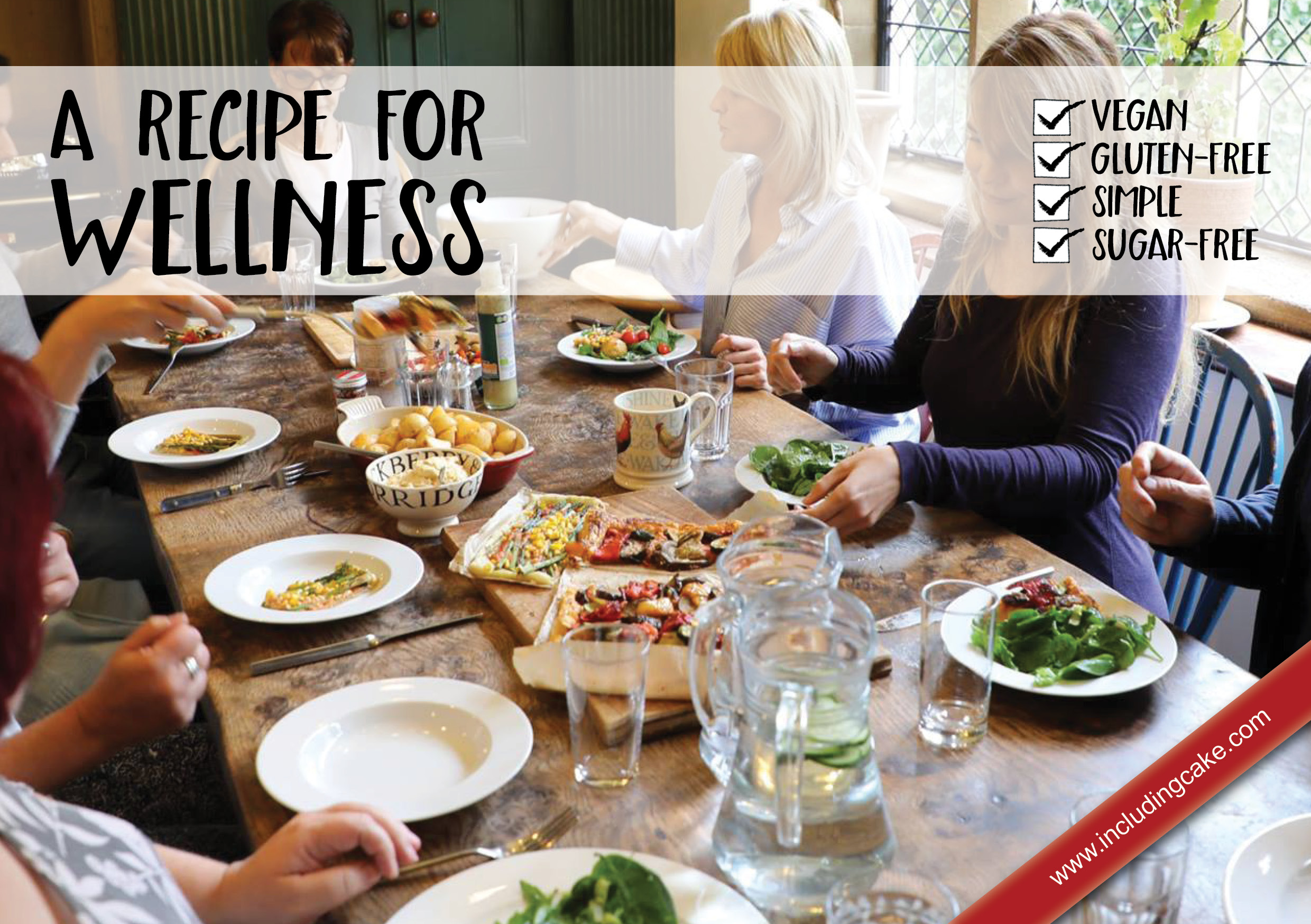 A Recipe For Wellness - A collection of favourite recipes that I have shared at retreats and workshops
