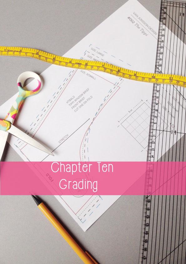 how to become a lingerie designer - grading