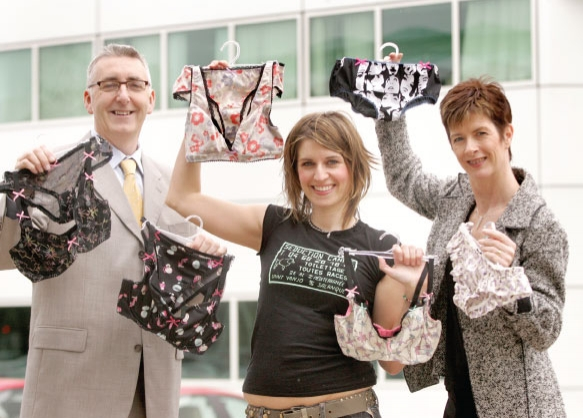 lingerie designer interview bbc news laurie van jonsson