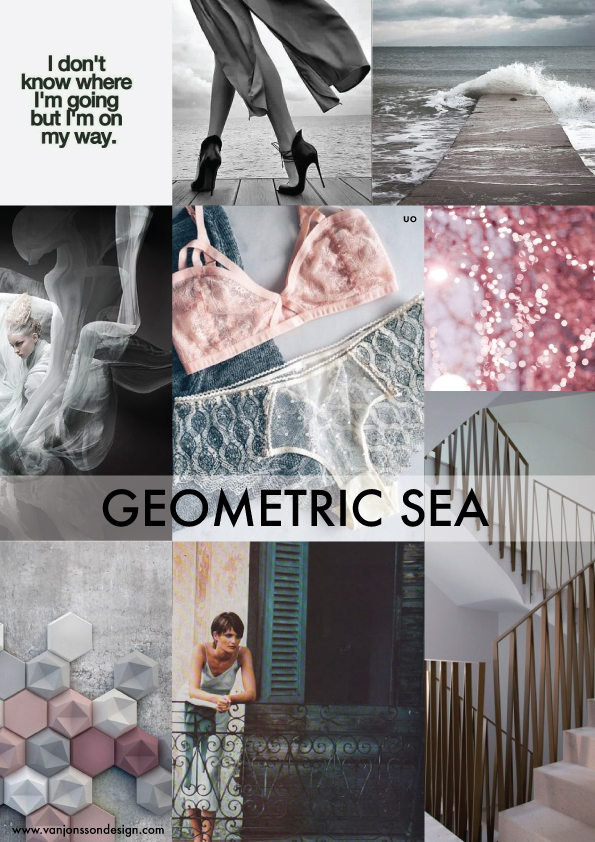 ss 18 lingerie trend Geomteric sea
