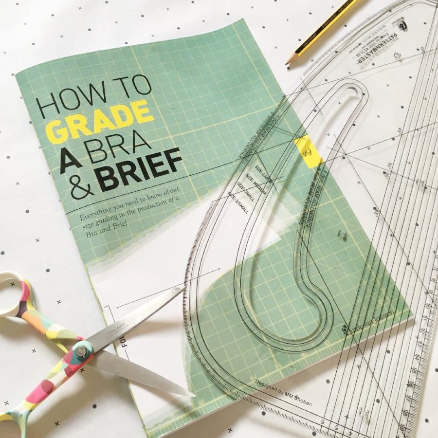 grading book for grading lingerie