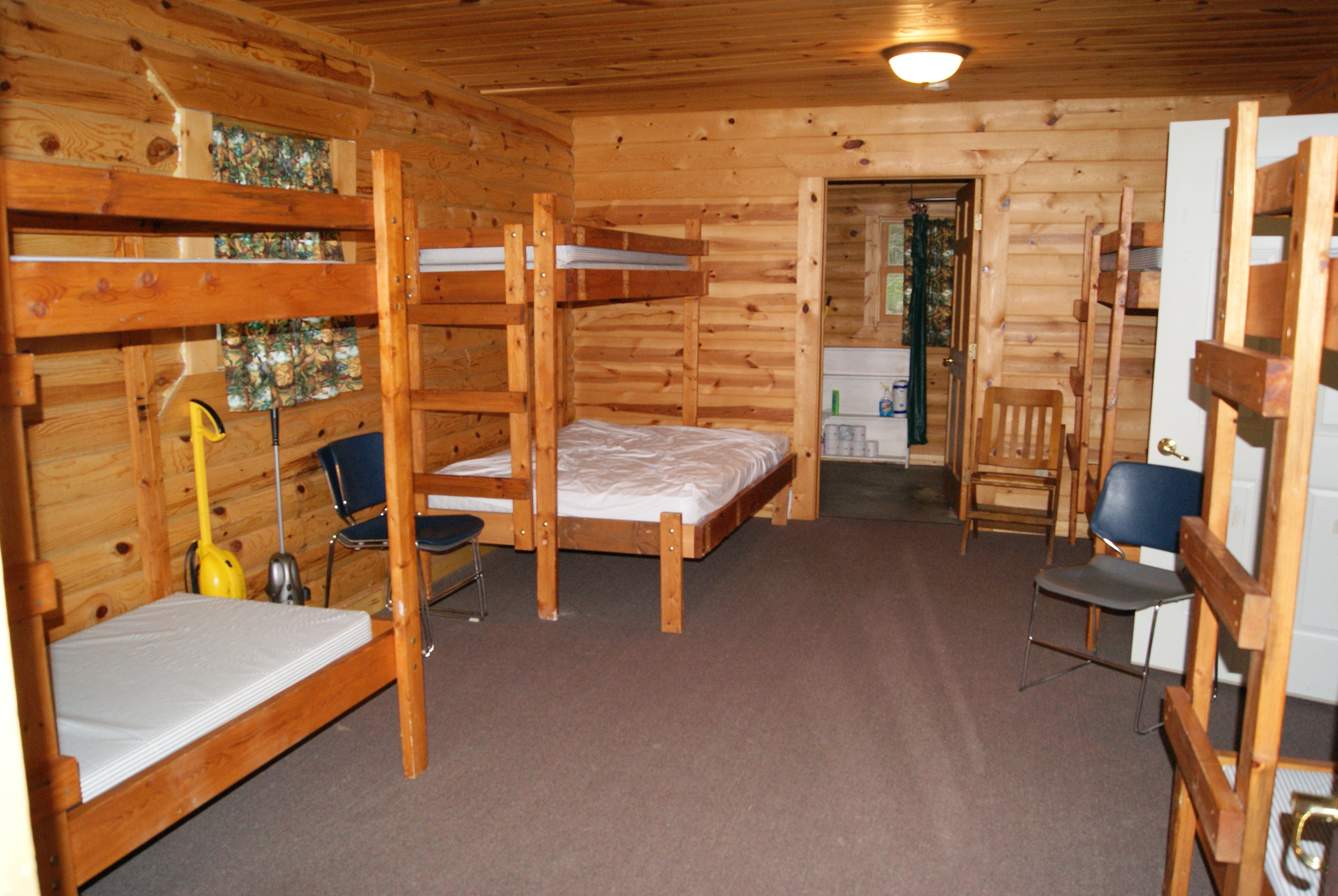 Interior of dorm room