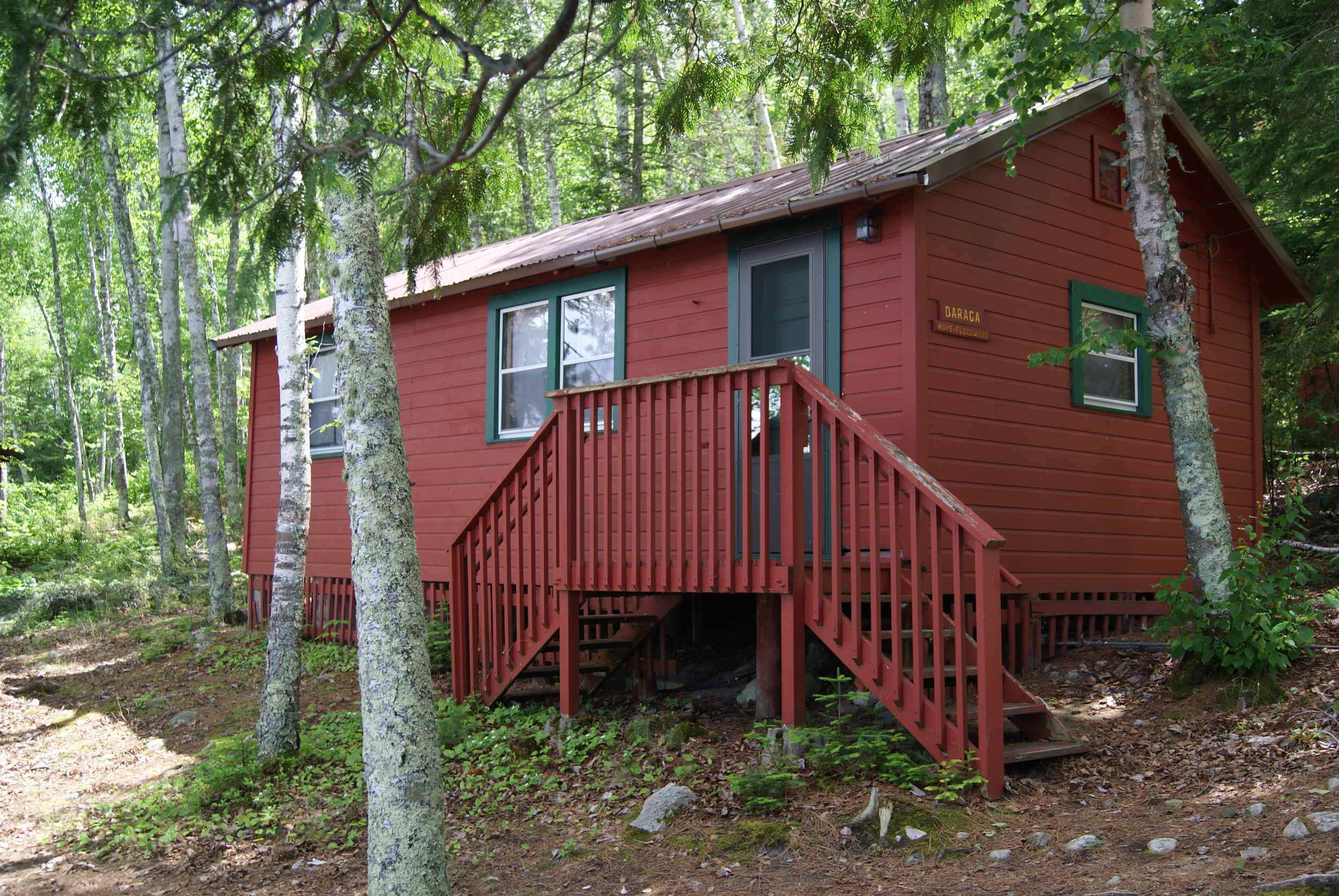 Missionary Village cabin