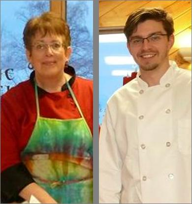 Camp's Hospitality Coordinators, Jan Soltis and Kai Abrahamson