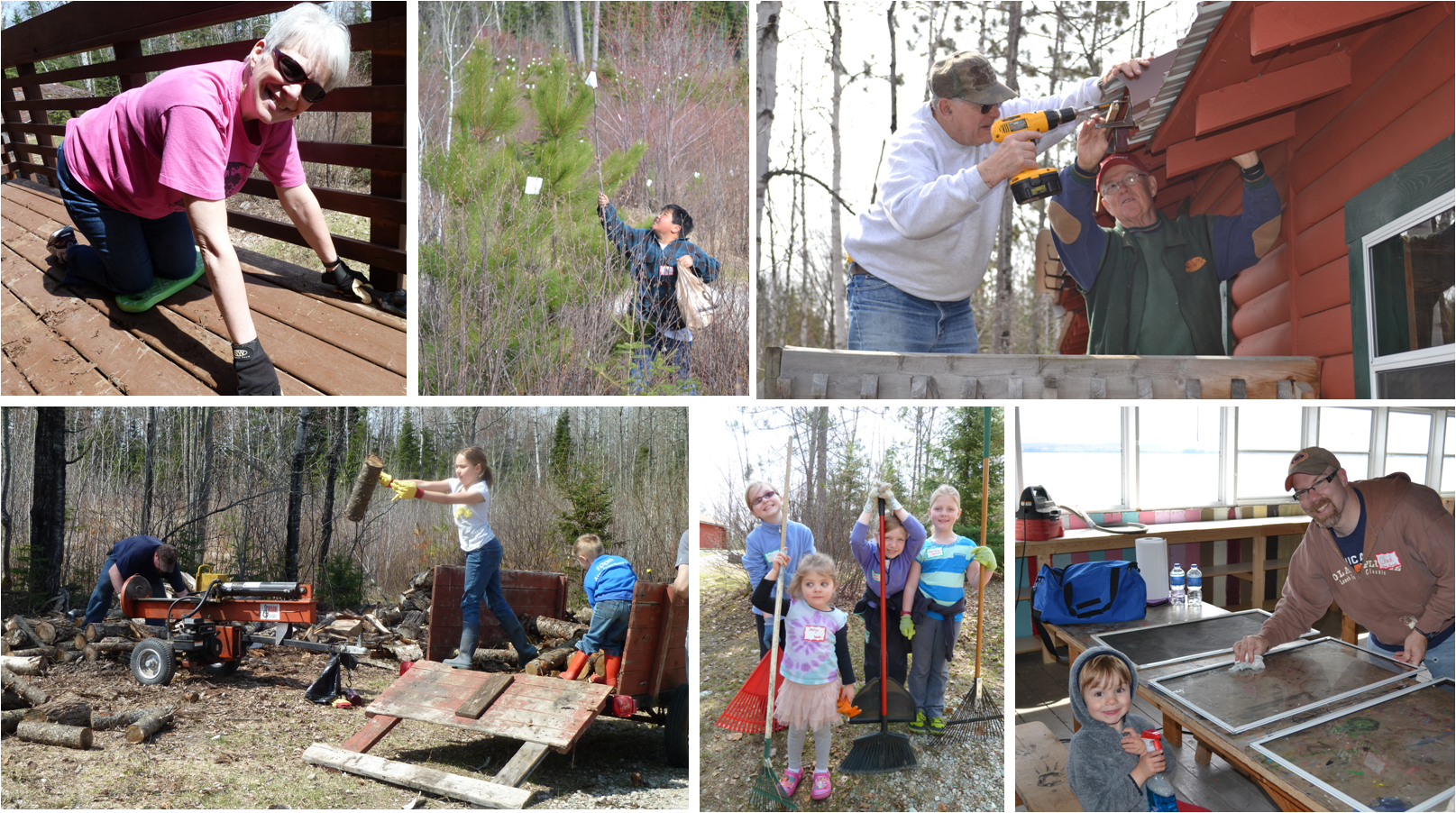 Camp Vermilion Work Day 2014