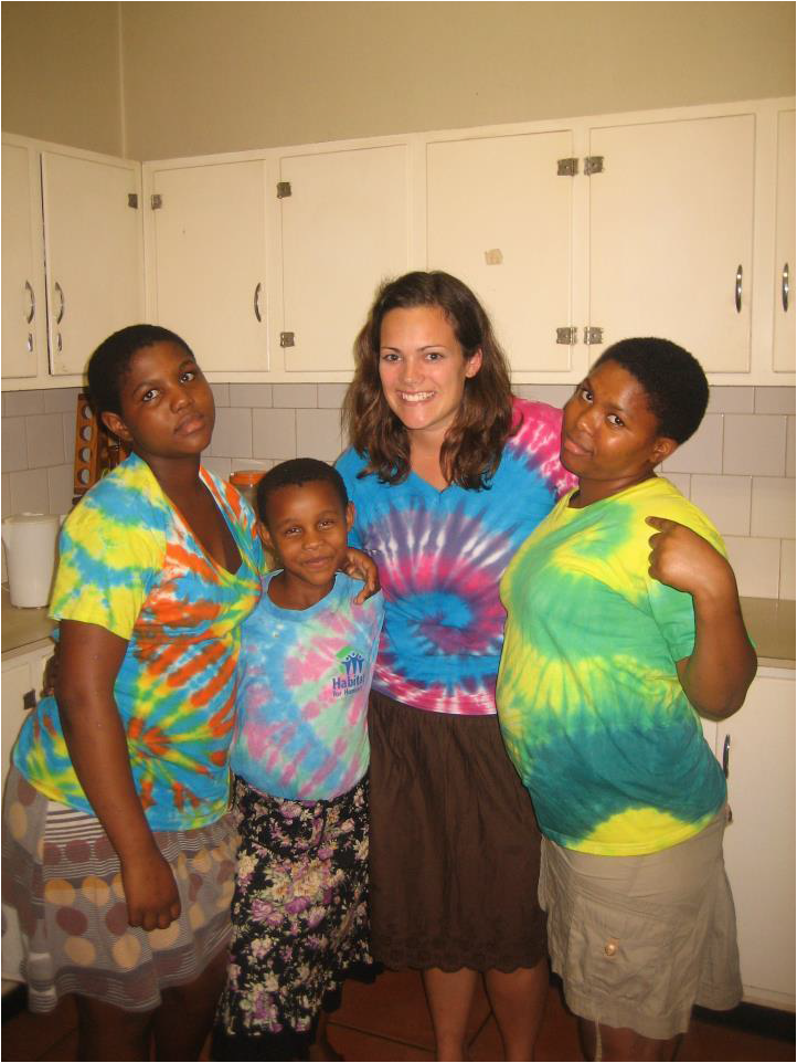 "I was so thankful I packed so many tie-dye shirts with me. Enough to share with each of my host sisters! ""Tie-dye Thursdays"" became a favorite tradition for us!"