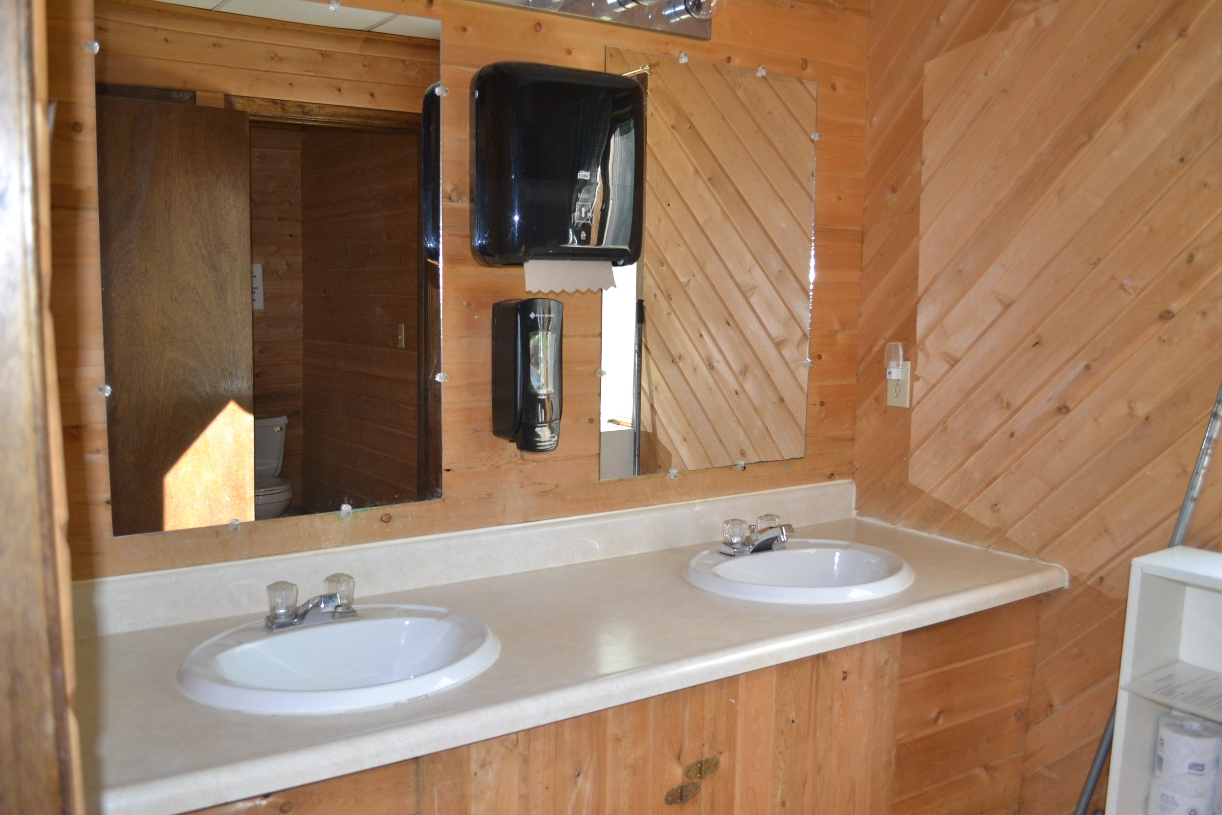 each dorm room has its own bathroom
