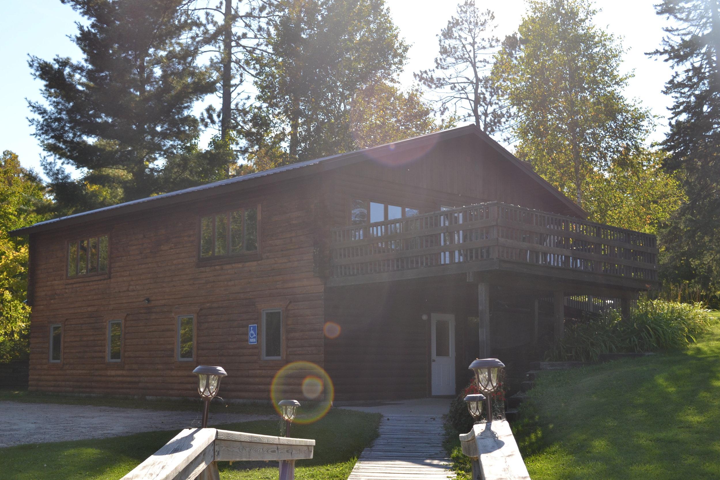 exterior of retreat center