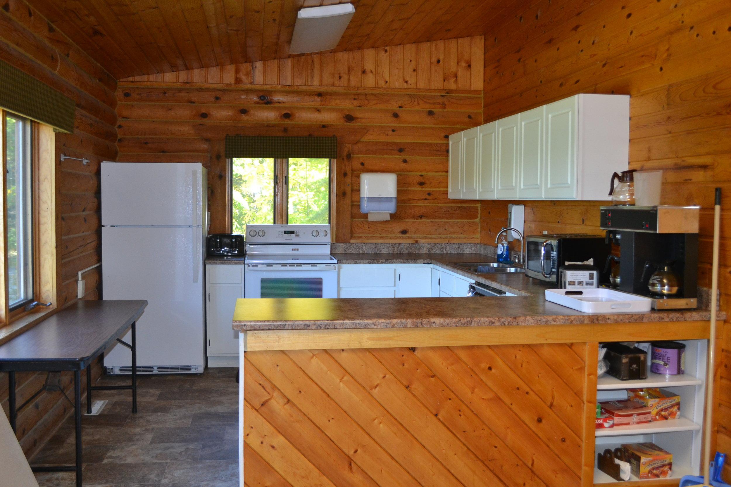 retreat center kitchen