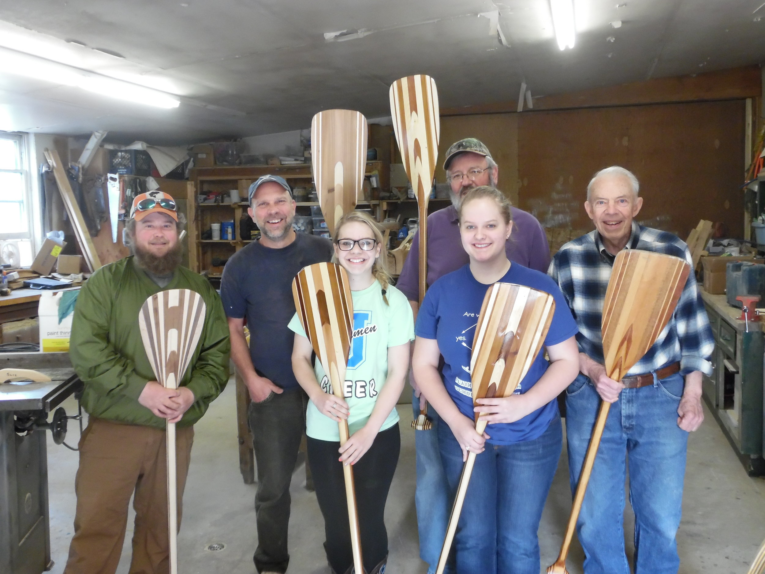 All Are Welcome! - Bring your partner, friends, or family and spend a weekend in the northwoods, with a beautiful piece to take home at the end. Parent/child or grandparent/grandchild participants can build a family heirloom together!