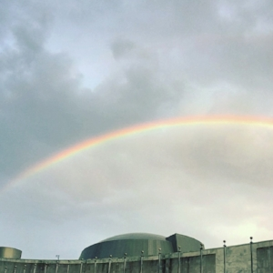 Rainbow over the United Nations, September 14th