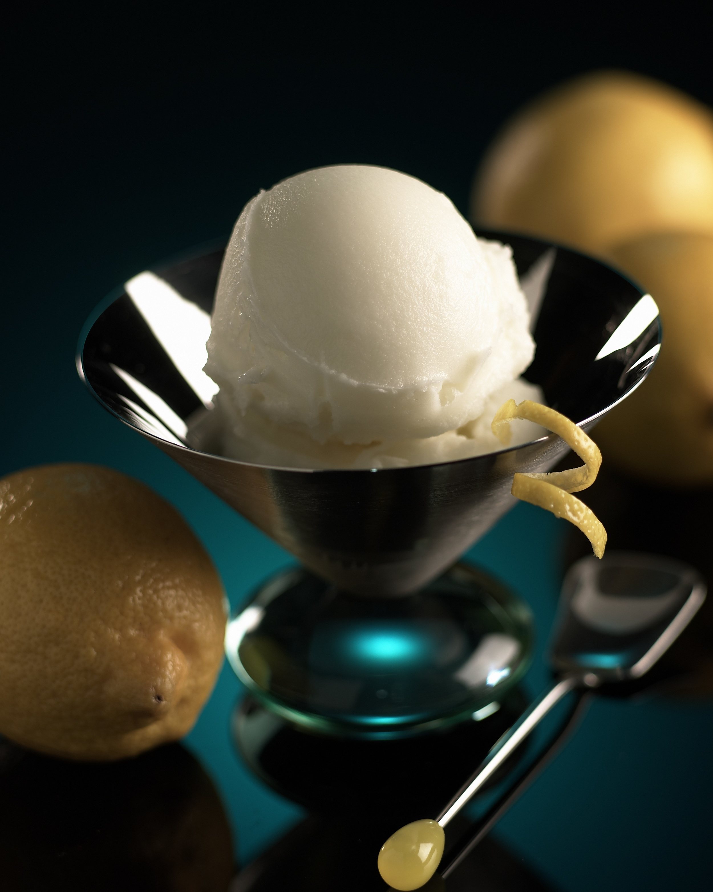 Scoop Sicilian Lemon Sorbet