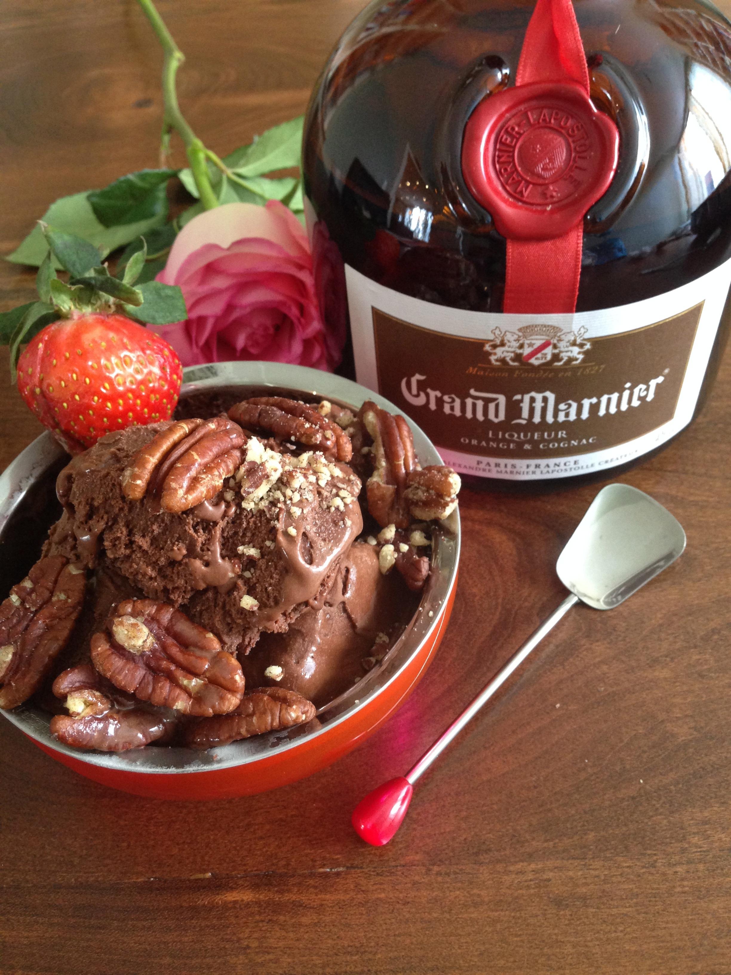 Grand Marnier Chocolate Pecan 4 Litre Pails