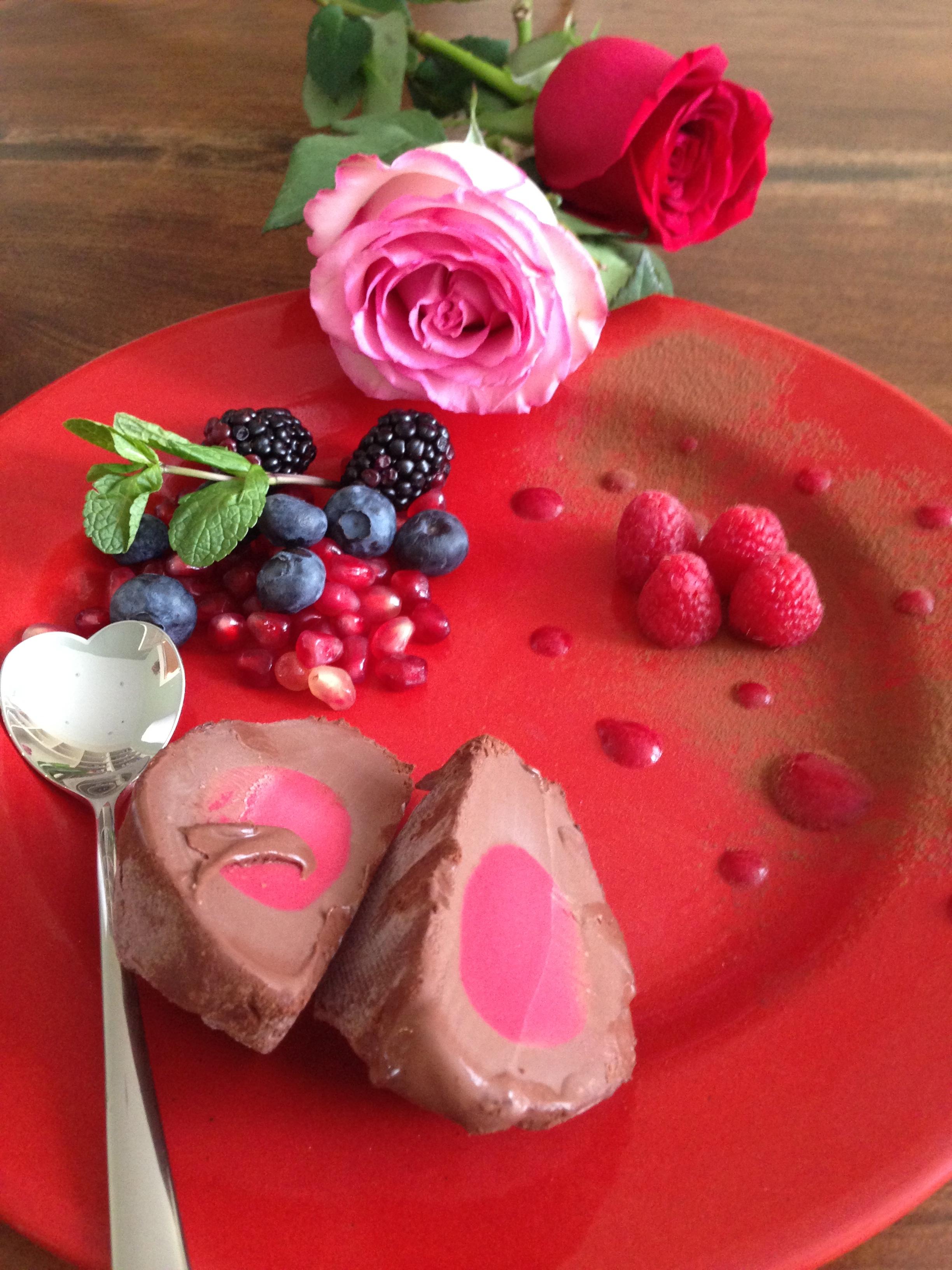 Raspberry Chocolate Tartufo 125 gms