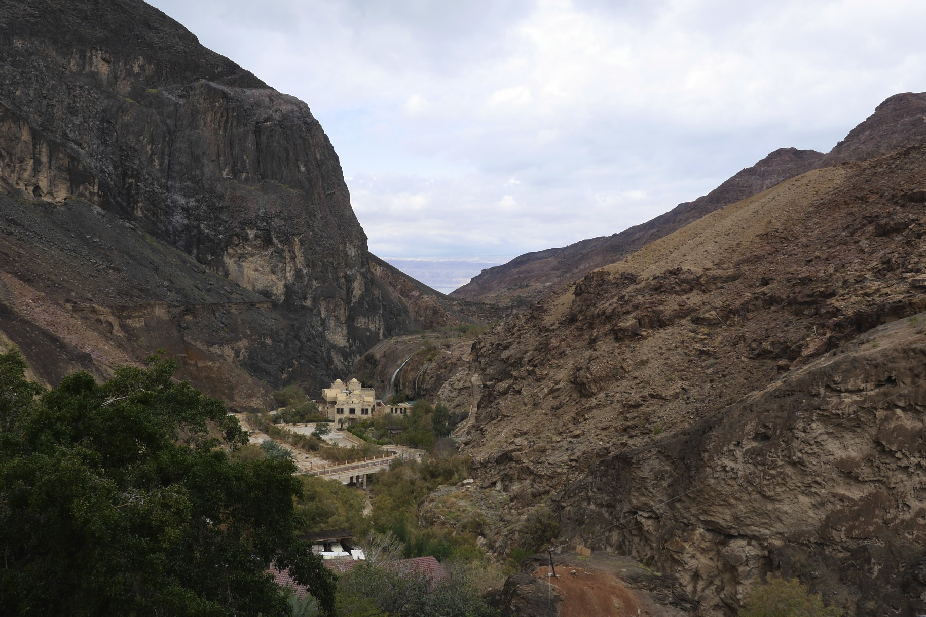 Ma'in Hot Springs, Jordan.  February 2013