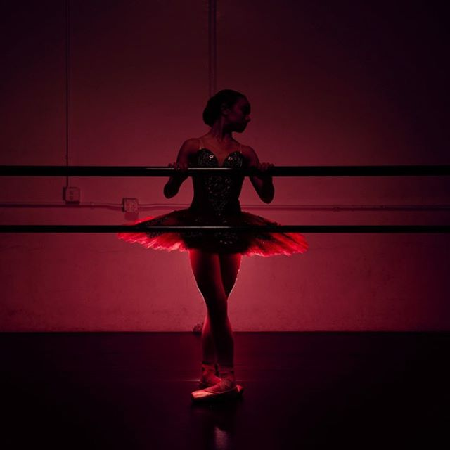 Red dancer. One of the few in color. @murrietadanceprojectofficial #dancestudio