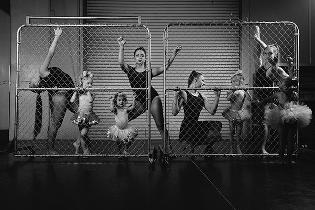 Behind the Fence for @murrietadanceprojectofficial #dancestudio