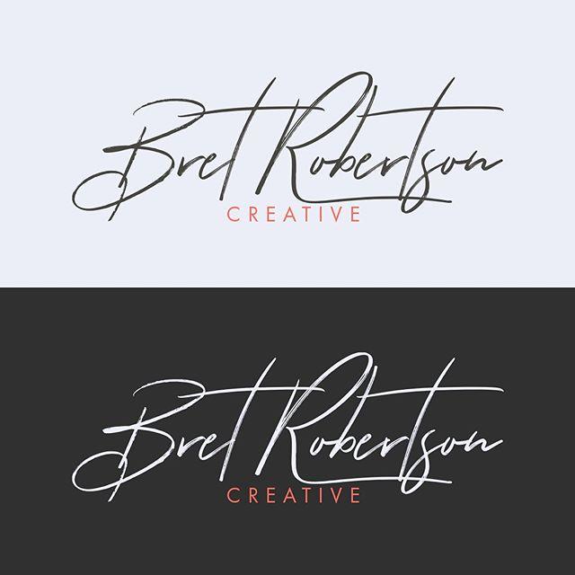 Decided @bretrobertsoncreative needed a little logo refresh.