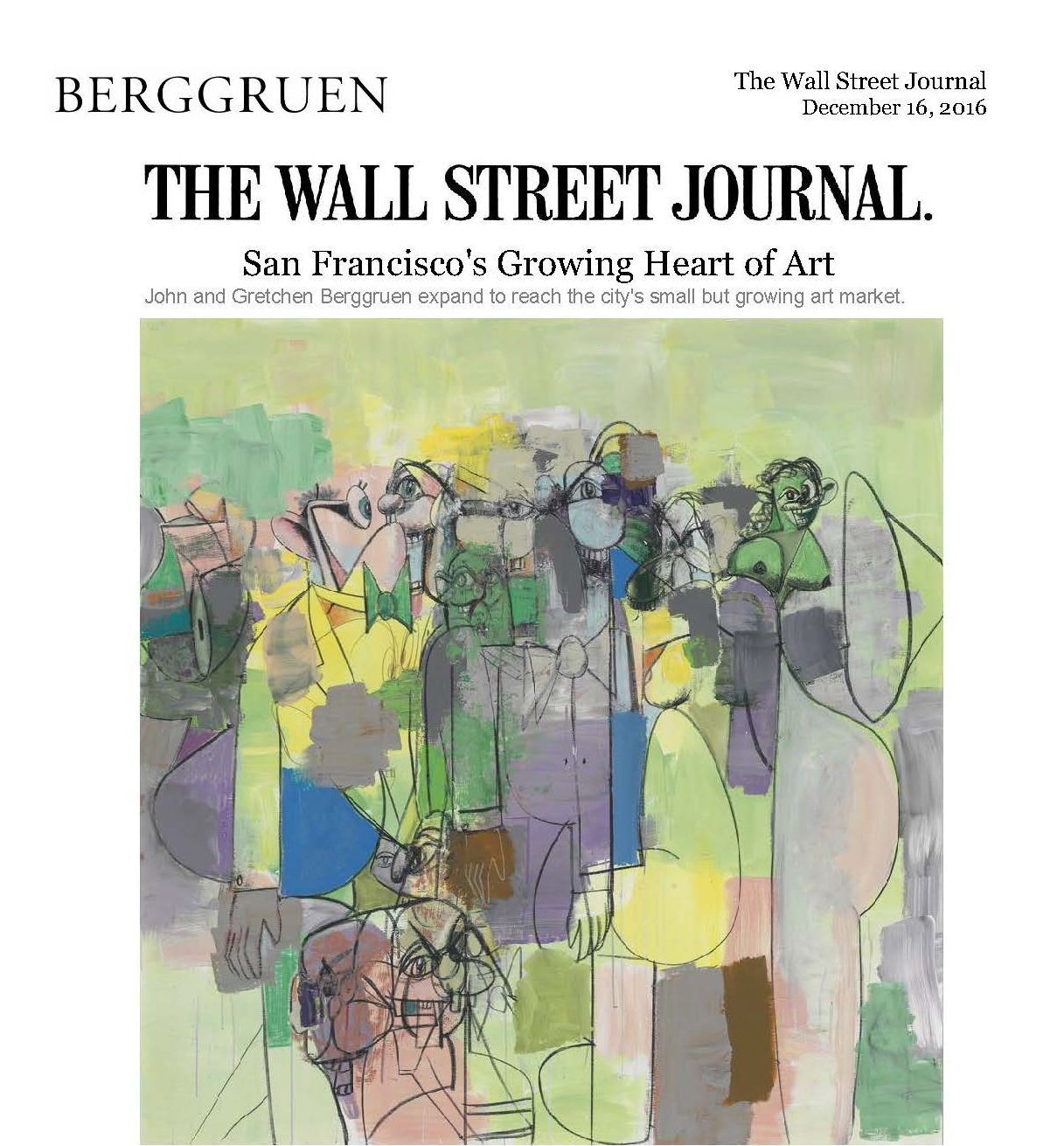 The Wall Street Journal - San Francsico's Growing Heart of Art
