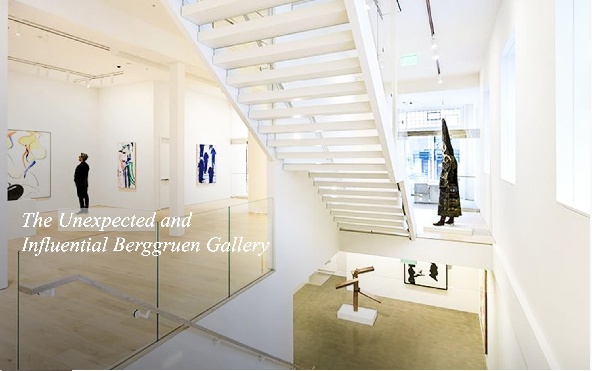 Berggruen Gallery in YBG article