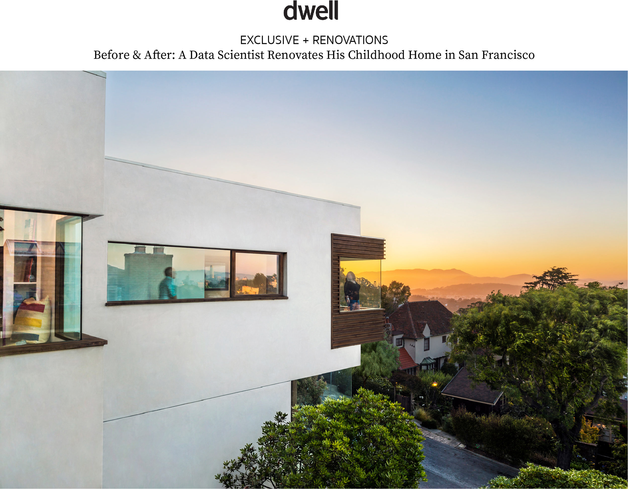 """""""Helping to balance nostalgia and aesthetics, architect Jennifer Weiss…retained the house's original footprint while raising ceilings, expanding windows, carving out bedrooms, and catapulting the facade into the current century."""" - Deborah Bishop for Dwell Magazine."""