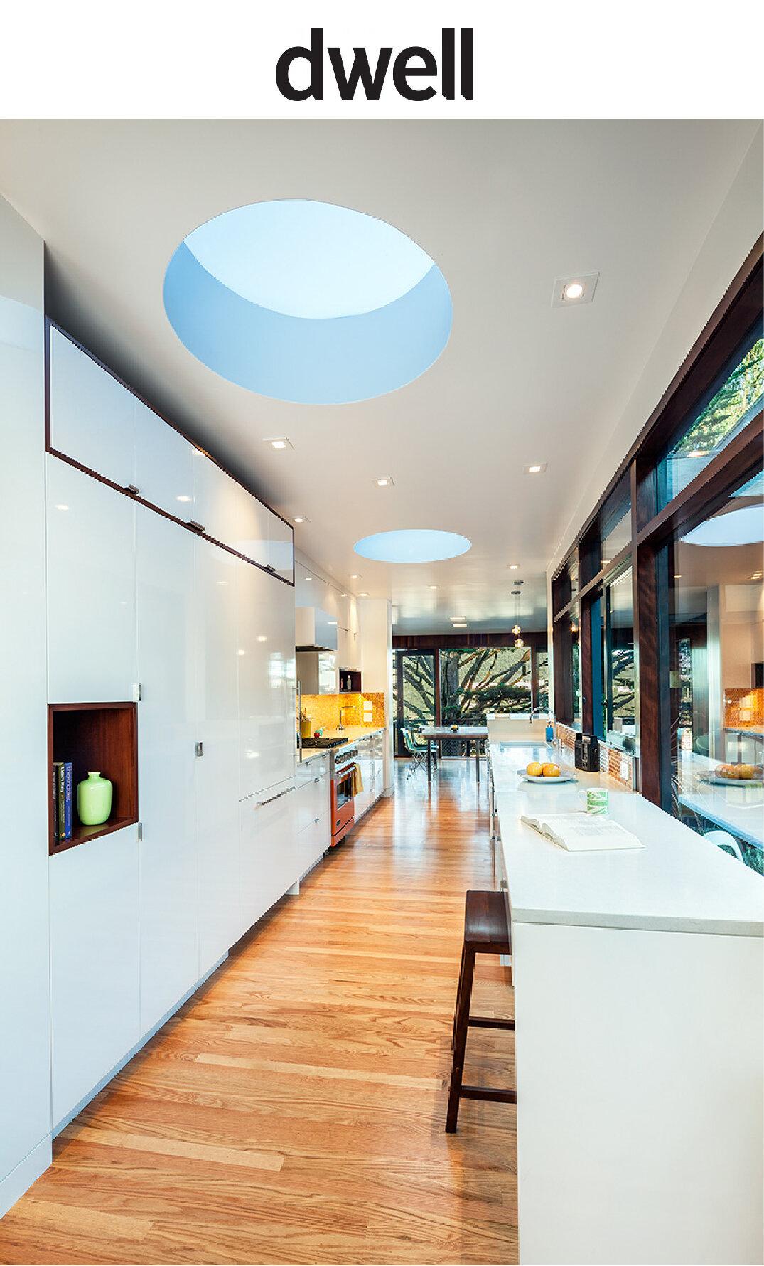DWELL magazine - Bright Lights, Big Kitchen
