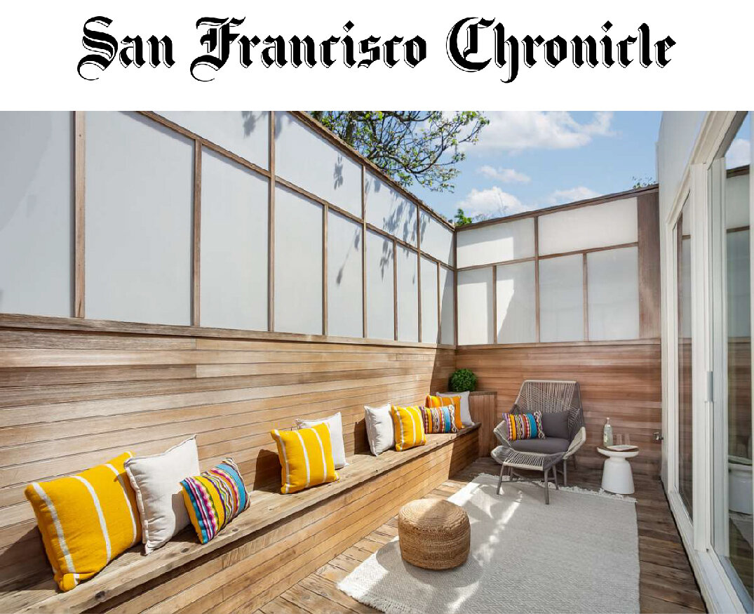 """San Francisco Chronicle - See how an SF architect transformed a 1,000-square-foot home into a light, livable space""""After a remodel that took only seven weeks, a dark and confined 1,000-square foot home in San Francisco's Russian Hill neighborhood was transformed into an airy, light-filled space.Architect Jennifer Weiss made several simple yet significant changes, such as raising the ceilings 23 inches to maximize light and creating an open floor plan in the living area."""""""