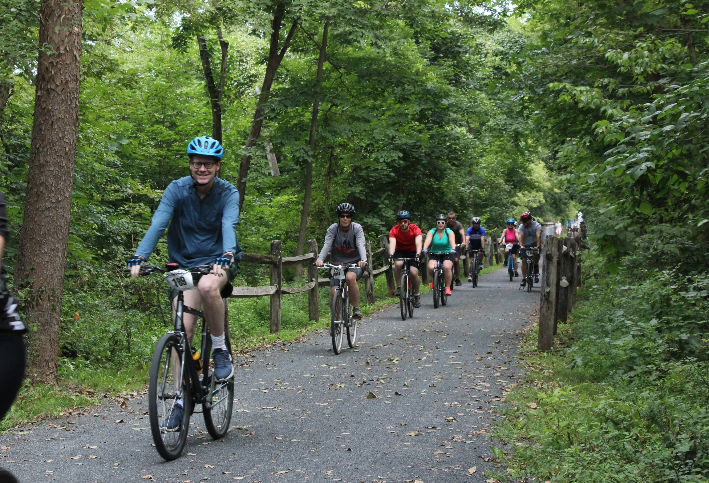 Ride along the beautiful Perkiomen Trail