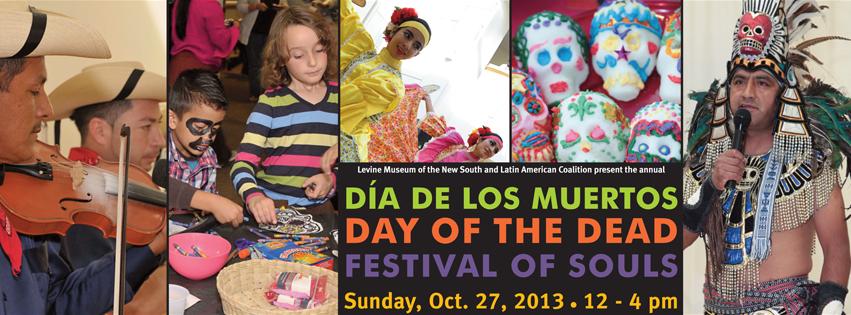 Día de los Muertos Festival by The Latin American Coalition.