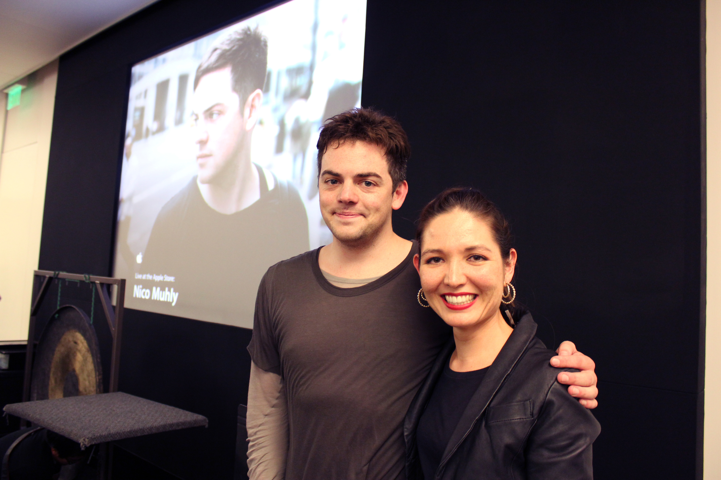 Mod squad with Nico Muhly promoting his album