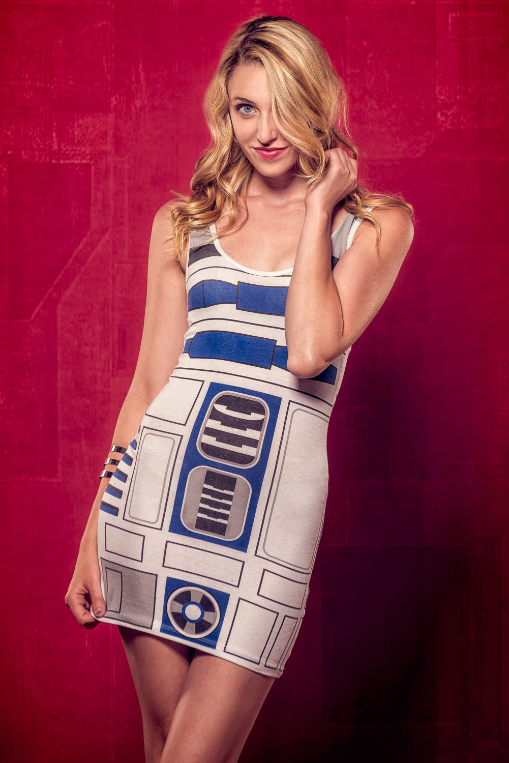 Aleah McCallum - Marek Michalek Photography R2-D2 Star Wars Dress.jpg