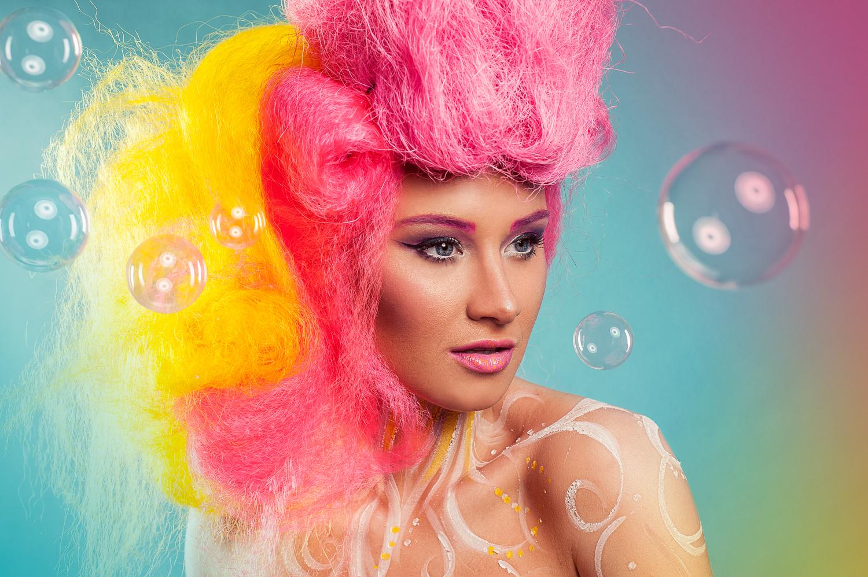 Hamilton Toronto Fashion Photographer -  Big Bright Bubbles by Marek Michalek.jpg